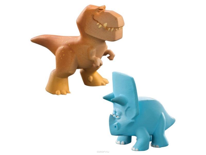 Набор фигурок Good Dinosaur Буч и Трицератопс 62302 набор фигурок good dinosaur анкилозавр раптор бутч ремси аконтофиопс птеродактиль 62309