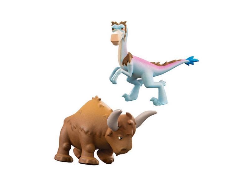 Набор фигурок Good Dinosaur Кеттл и Раптор 62305 набор фигурок good dinosaur анкилозавр раптор бутч ремси аконтофиопс птеродактиль 62309