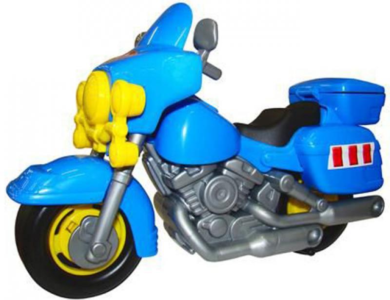 Купить Мотоцикл Полесье полицейский Харлей цвет в ассортименте 8947, Игрушки