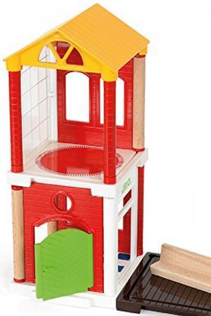 Игровой набор Brio доп.деталей для построения дома,14 предм.,26х6х19см,кор. игровой набор brio полицейский вертолет 3 эл 19х9х13см кор