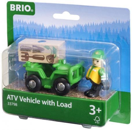 Вездеход с аксессуарами Brio brio погрузчик с подъемником