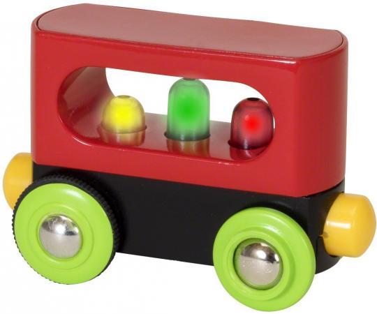 Мой первый вагончик с подсветкой Brio машинки brio погрузчик с подъемником и фигуркой brio
