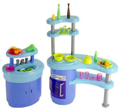 Набор мебели д/кукол 1Toy - кухня набор мебели 1toy красотка гламур кухня т54506