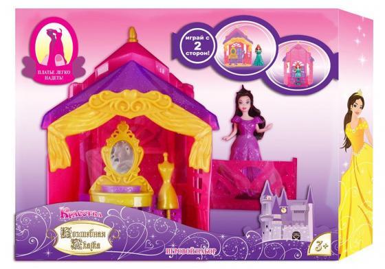 Кукла 1Toy Красотка Волшебная Сказка наб.Будуар,кукла 11см с платьем-прищепкой,аксесс.,блист. цена
