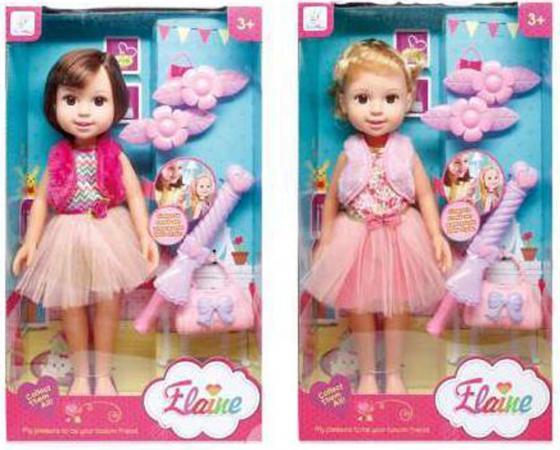 Кукла Zhorya б/функций 36 см с расческой, заколками кукла zhorya модная вечеринка х75780