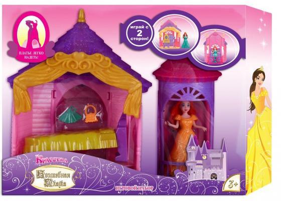 Кукла 1Toy Красотка Волшебная Сказка наб.Спальня,кукла 11см с платьем-прищепкой,аксесс.,блист. цена