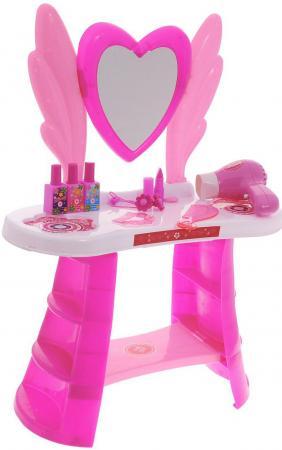 Купить Игровой набор 1toy туалетный столик бол. сердце, 10 пр. в наборе, фен дует, Игрушки