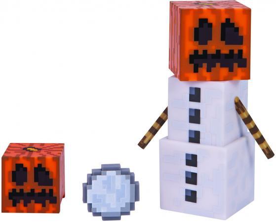 цена на Игровой набор Minecraft Снежный Голем с аксесс.,15х18х5см,блист.