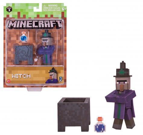 Игровой набор Minecraft Ведьма с аксесс.,15х18х5см,блист. jacob cordeiro minecraft für dummies