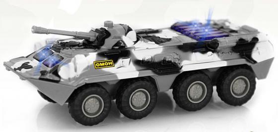Интерактивная игрушка Play Smart Автопарк - БТР-80 от 3 лет хаки развивающая игрушка play smart каталка кит вертолет разноцветный