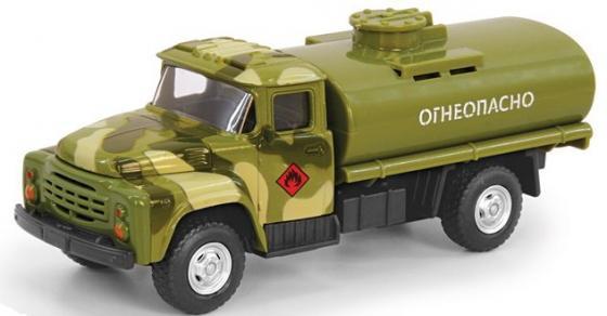 Интерактивная игрушка Play Smart грузовик(огнеопасно)-военный от 3 лет хаки развивающая игрушка play smart каталка кит вертолет разноцветный