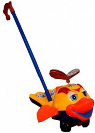 Каталка на палочке S+S Toys Рыбка 24x15x12см каталка на палочке s s toys вертолет желтый от 1 года пластик