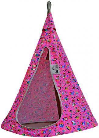 Гамак MOUSE HOUSE Совы розовые диаметр 80 см 80-13 гамак mouse house бирюза темная диаметр 110 см 110 02