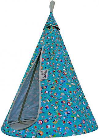 Гамак MOUSE HOUSE Совы бирюзовые диаметр 80 см  80-11 люльки gesslein c3