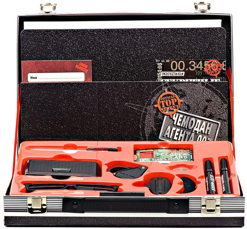 Игровой набор FANTASTIC Чемодан агента 007 13 предметов