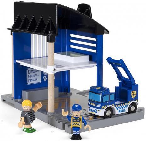 Игровой набор Brio Полицейский участок,6 эл.,свет,звук,25х17х25см,кор. савушкин с ред времена года