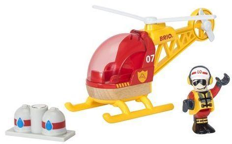 Вертолет Brio Спасательный вертолет с 3-х лет 7312350337976 игрушка dickie toys спасательный вертолет 3302003
