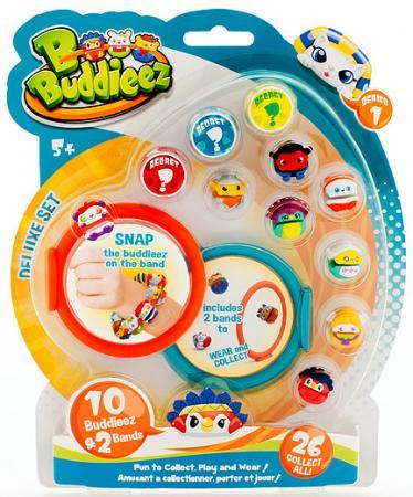 Игровой набор 1 Toy Bbuddieez 10 шармов-персонажей 2 браслета игровой набор dave toy аэропорт с 1 машинкой