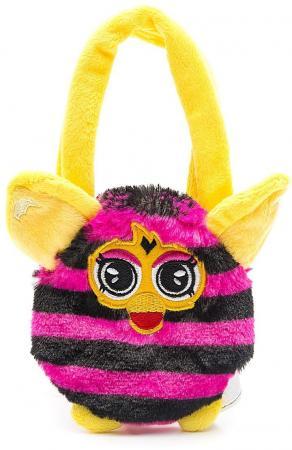 Плюшевая игрушка Furby сумочка в полоску 12 см, хенгтег игра 1toy сумочка furby волна т57556