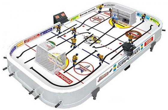 Купить Настольная игра спортивная S+S TOYS Настольный хоккей 12 рычагов 59*35*8, Игрушки