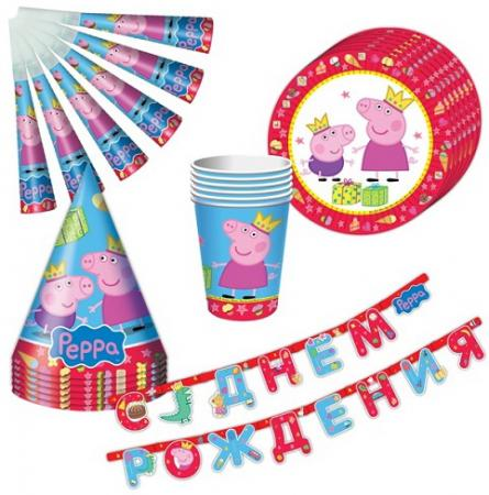 Набор посуды Peppa Pig «Пеппа-принцесса» 25 предметов peppa pig daddy