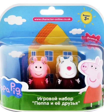 Игровой набор Peppa Pig Сьюзи и Кенди игровой набор пеппа и сьюзи peppa pig игровой набор пеппа и сьюзи