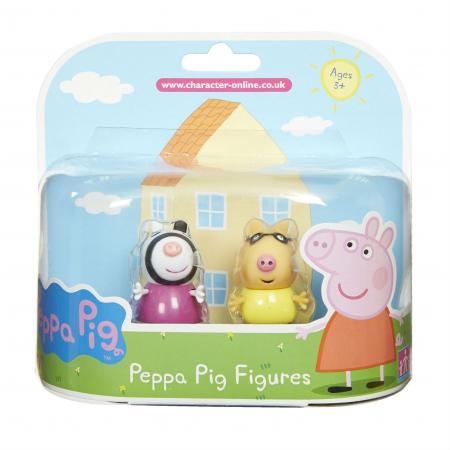 Игровой набор Peppa Pig Педро и Зои peppa pig игровой набор самолет peppa pig 30630