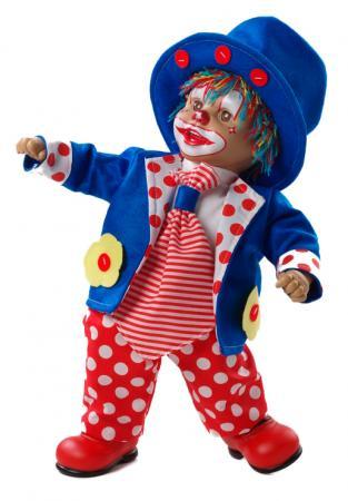 Кукла Arias Клоун 38 см, коробка (винил, текcтильные материалы) 8427614200145 кукла клоун arias 38см красный