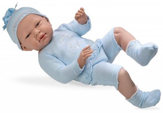 Купить Пупс Arias 52 см, в голубом костюмчике со стразами Swarowski в виде котёнкаi, кор., Игрушки
