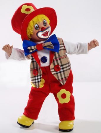 Кукла Arias Клоун 50 см, коробка (винил, текcтильные материалы) 8427614210090 кукла клоун arias 38см красный