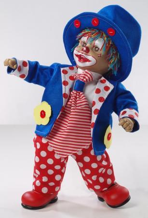 Кукла Arias Клоун 50 см, коробка (винил, текcтильные материалы) 8427614210106 кукла клоун arias 38см красный
