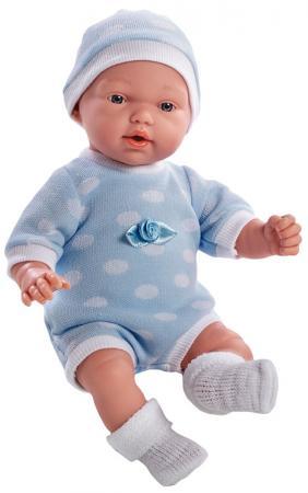 Кукла Arias 28 см, функционал - плач, в голубом боди и шапочке,с соской, кор. сатиновый красный костюм деда мороза 54 56