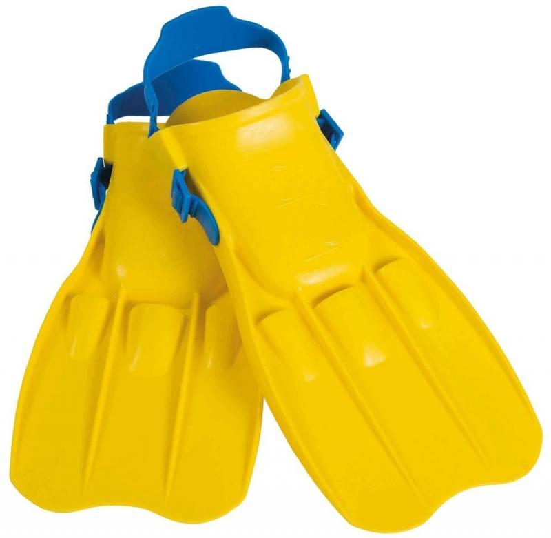 Ласты для плавания Юниор 8-11 лет Intex 55932 (желтый) игрушка для плавания intex 59642