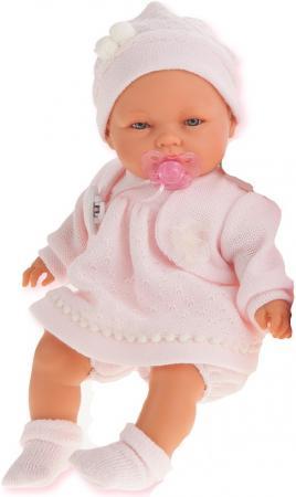 Кукла Munecas Antonio Juan Соня в розовом, плач., 37 см 1443P munecas antonio juan кукла лучия в розовом 37 см munecas antonio juan