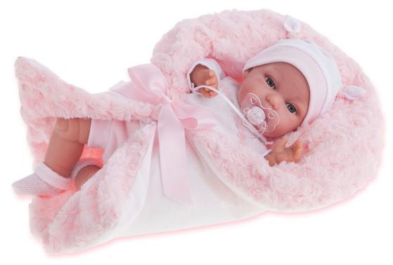 Кукла Munecas Antonio Juan Вита в розовом, озвуч., 34 см 7030P кукла antonio juan кукла вита pink 7030p
