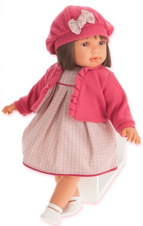 Кукла Munecas Antonio Juan Аделина в красном, 55 см 1824R munecas antonio juan munecas antonio juan кукла аделина блондинка 55 см