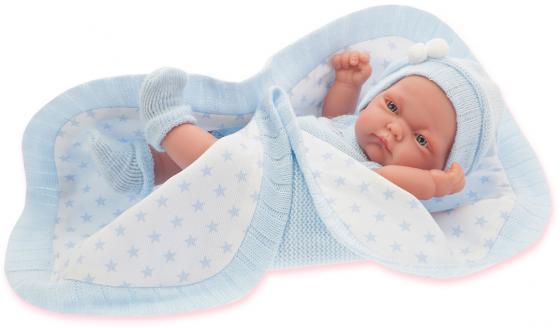 Кукла-младенец Munecas Antonio Juan Карла в голубом, 26 см 4069B