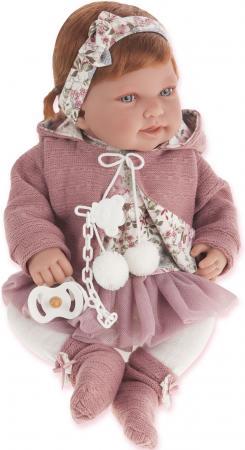Кукла Munecas Antonio Juan Саманта в розовом, 40 см 3370P munecas antonio juan кукла лучия в розовом 37 см munecas antonio juan
