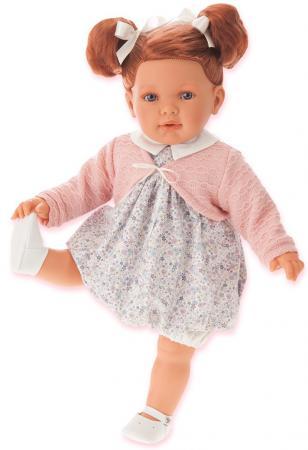 Кукла Munecas Antonio Juan Аделина рыжая, 55 см 1822P munecas antonio juan munecas antonio juan кукла аделина блондинка 55 см