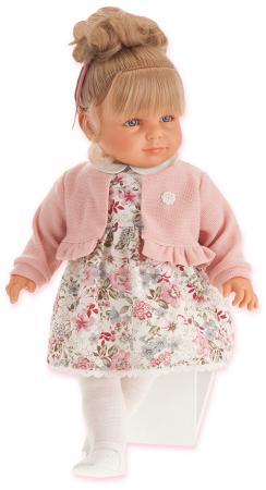 Кукла Munecas Antonio Juan Нина в розовом, 55 см 1820P
