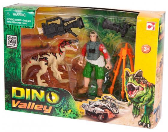 Игровой набор CHAP MEI Динозавр Эораптор и кинооператор 520007-2 игровые наборы chap mei игровой набор динозавр эораптор и кинооператор