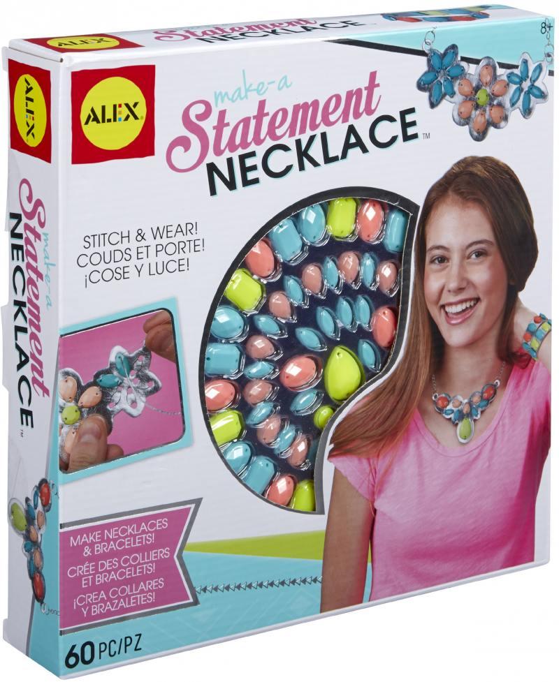 Купить Набор для создания ожерелья и браслета Alex, от 8 лет 611120-3, Игрушки