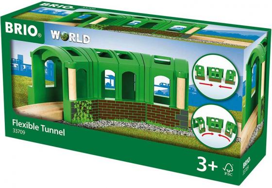 Тоннель-трансформер Brio из 3х секций,22х8х8см,кор. каталки игрушки brio вертолет