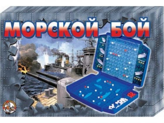 Настольная игра логическая Десятое королевство Морской бой (ретро) 00993 настольная игра логическая десятое королевство танковый бой 994