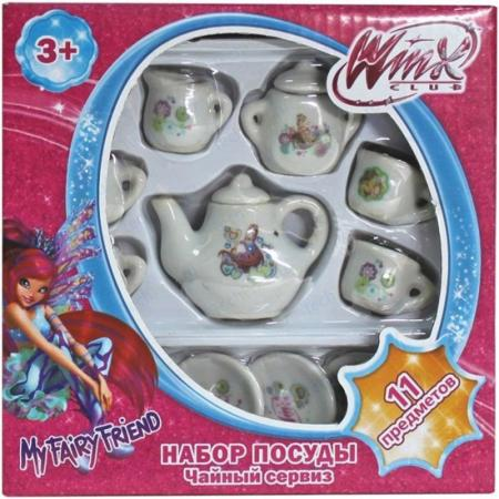Набор посуды Winx 11 предметов Т56344 1toy winx т56635