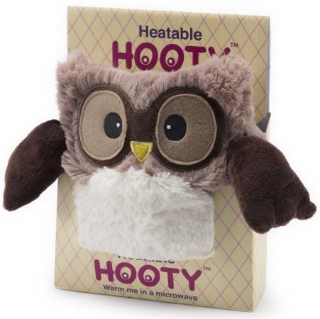 Мягкая игрушка-грелка Warmies Hooty - Совенок 20 см коричневый текстиль HOO-BRO-1 цена 2017
