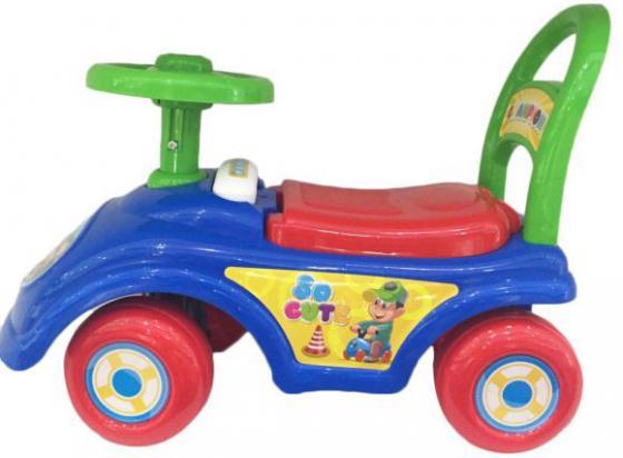 Каталка-машинка Shantou Gepai So Cute пластик от 1 года синий 2015 каталка на палочке shantou gepai бабочка 941720 пластик от 1 года на колесах разноцветный 1200