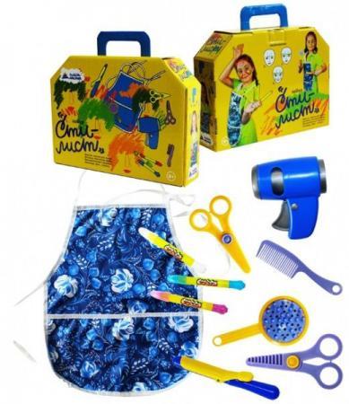 Игровой набор Пластмастер Стилист 9 предметов 22023 пластмастер игрушечный набор монтажник