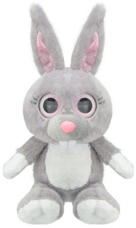 """Мягкая игрушка Wild Planet """"Зайчик"""" 15 см серый искусственный мех K7865"""