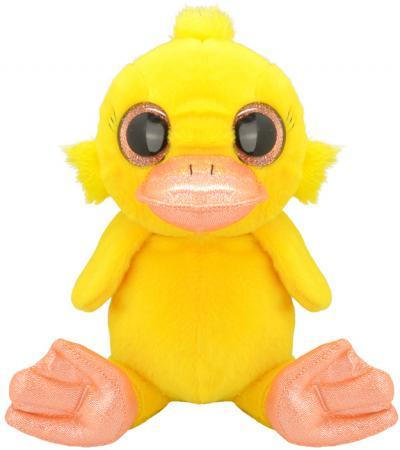 Мягкая игрушка утенок Wild Planet Утенок K7850 15 см желтый искусственный мех текстиль пластик
